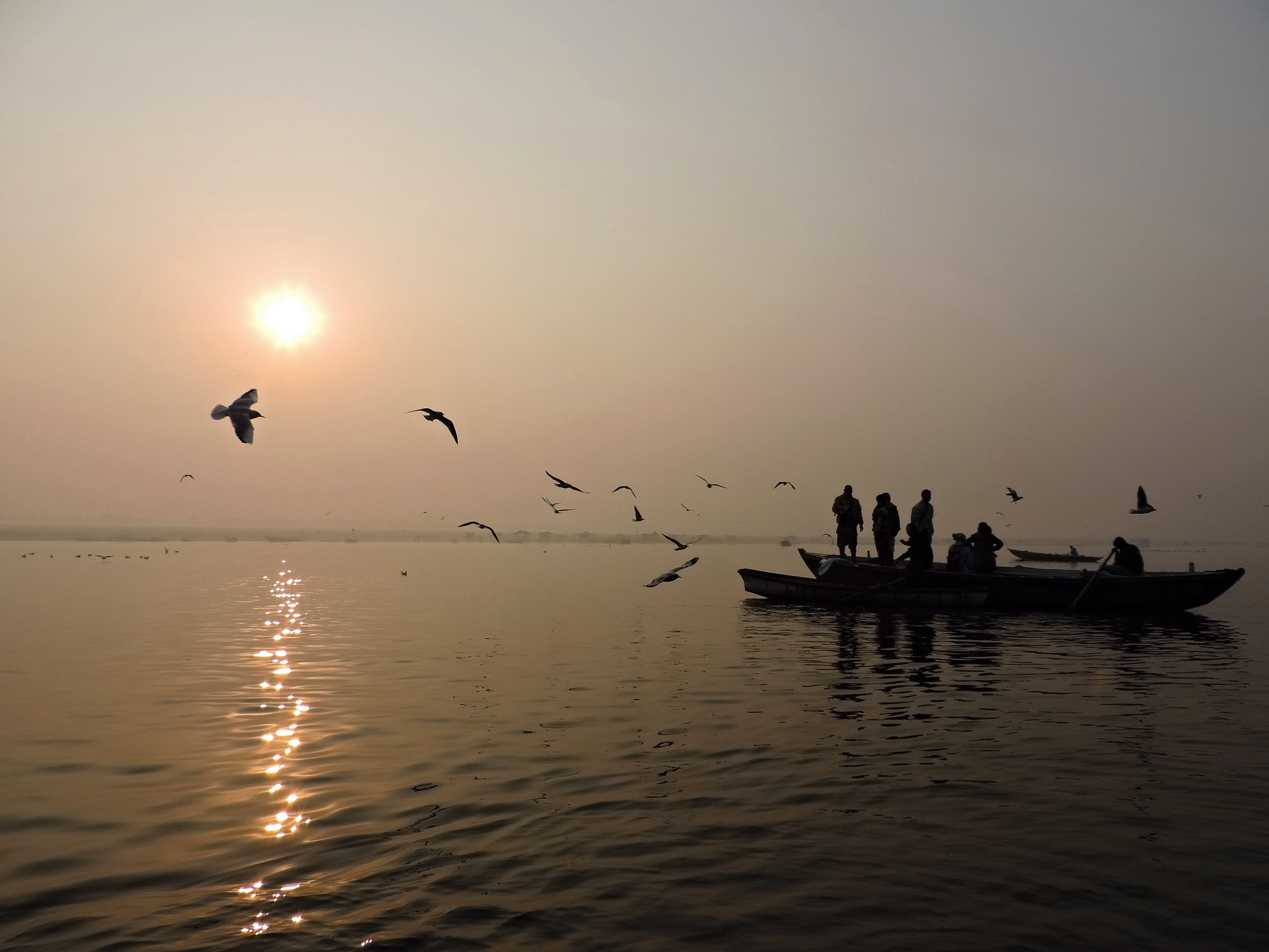 24.Varanasi River Ganga