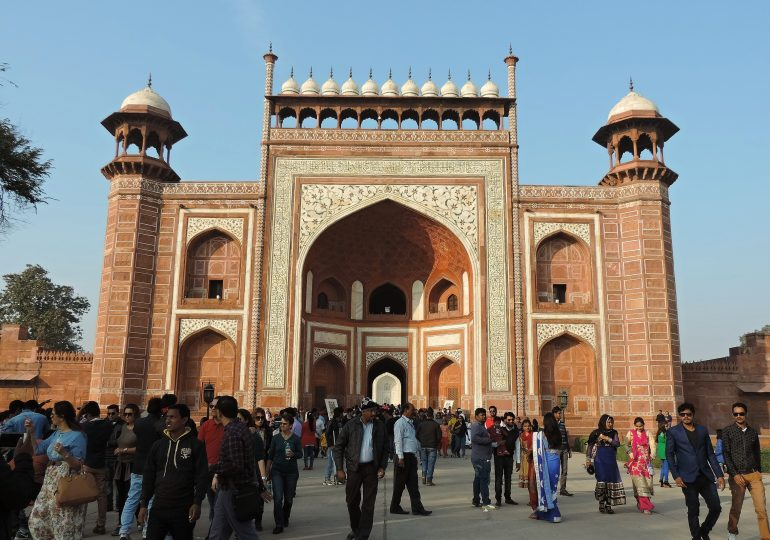 12. Agra Gate Taj Mahal