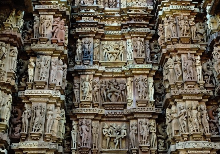 17.Khajuraho Erotic Sculptures Temple