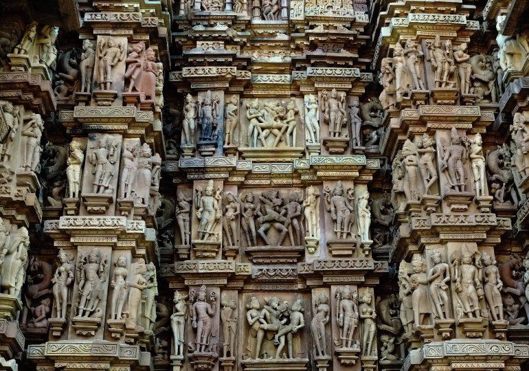 17.Khajuraho Erotic Sculptures Temple