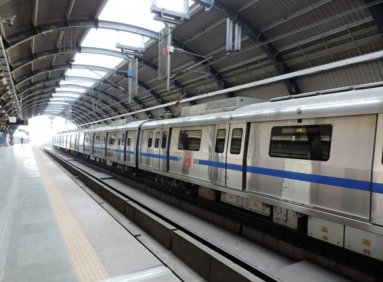3.New Delhi Metro