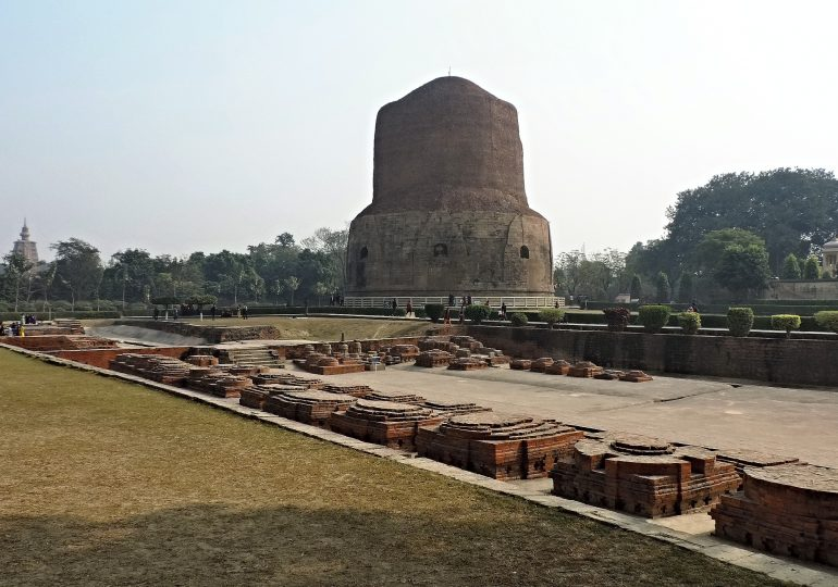 36.Sarnath Buddhism Place.